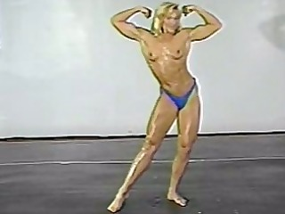 fitness models topless wrestling classic part 9