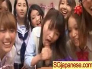 oriental school angel receive group-fucked hard