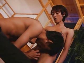 slim oriental guys bombastic oral-sex pont of time