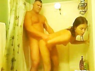 army boy makes his wife cum hard
