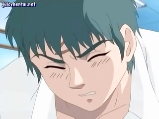 anime sweetheart has to engulf and fuck a lot of
