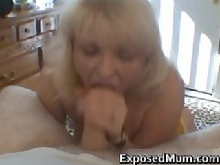 naughty mamma shows her juggs and sucks dick part7