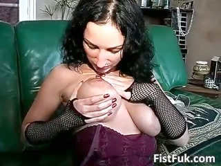 excited large boobed doxy fuck herself