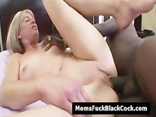 golden-haired mom pink bawdy cleft screwed by