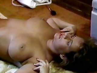 breasty babe acquires fucked on floor