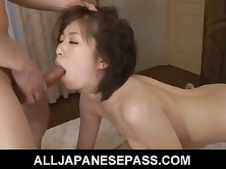 yuuka tsubasa drilled hard and left soaking juicy