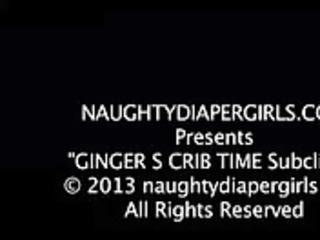 gingers crib time diaper fetish teaser pt3 -