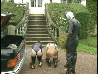 leather and stap-ons - dbm movie scene