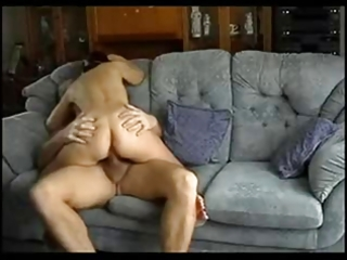 spouse and wife have a quick fuck on the bed !