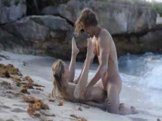 exquisite gangbang on the beach in art episode