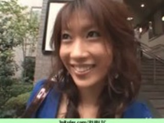 hawt public sex with dilettante japanese playgirl