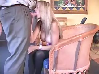 perverted dilettante wife playing with shlong
