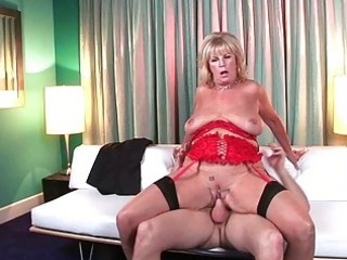 hot and lustful mother i floozy teasing with her