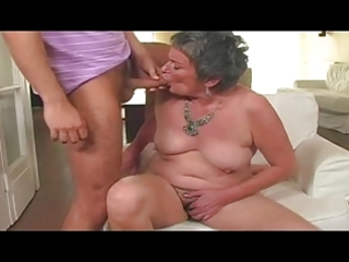 granny receives laid by a guy