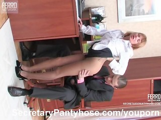 hose sex in the office