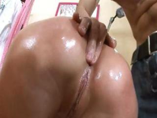 oiled up cunt same as her analhole