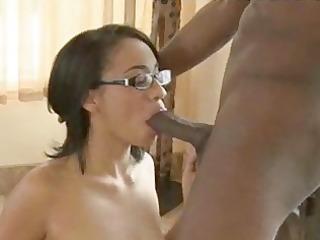 non-professional school gal oral-job sex