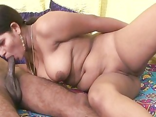 non-professional indian doxy engulfing little dong