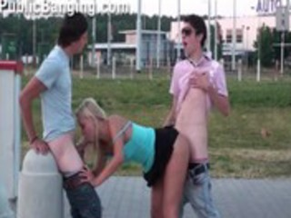 cute youthful legal age teenager hotty in public