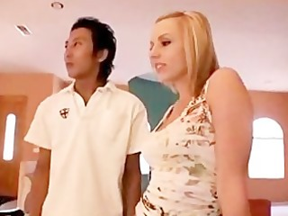 amwf lexi belle interracial with oriental lad