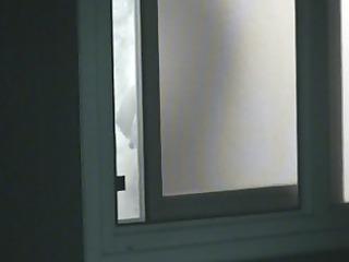 spying on my neighbors milk sacks whilst she is