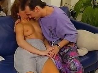 unshaved vintage redhead acquires pussy...