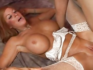 slutty bitch getting drilled until insane soaked