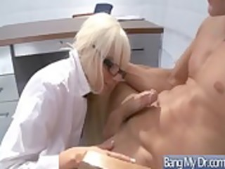 hardcore banging betwixt doctor and excited sluty
