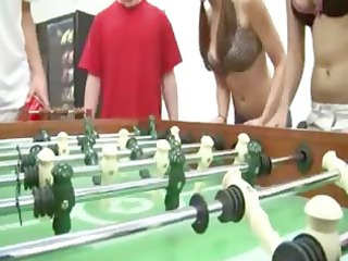 excited gals sex everywhere in room