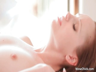 Two aroused sexy lesbian hotties making part1