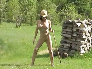outdoor s garb pleasure dance in a country abode