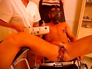 sadistic dark brown nurse can jock punishment