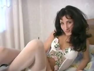 hawt mother id like to fuck in white lingerie