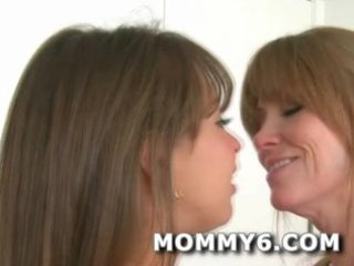 ultimate mama and daughter dream threeway