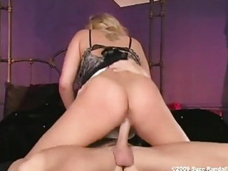 hot golden haired alanah rae slams her vagina on