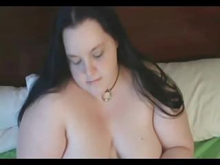 lewd corpulent big beautiful woman gf showing her