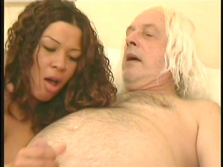 darksome angel with old white lad - shots