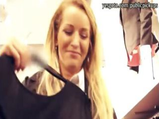 real non-professional blond eurobabe pounded in