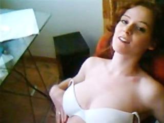 magnificent redhead dilettante masturbation