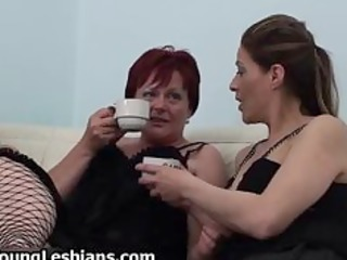 old lesbo redhead fucking with hawt part2