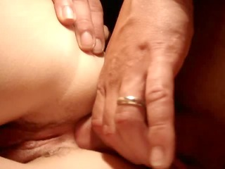 cock pushed in taut anal