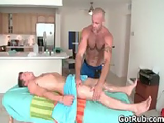 hawt chap receives oiled up and prepped for homo