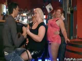 fatties join immodest party