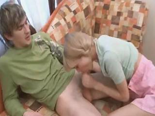 pigtailed teenie loly engulfing weenie