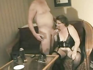 homemade grandma receives willing to fuck granddad