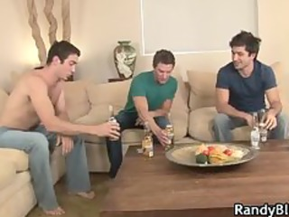 super hawt fellows in homosexual foursome porn