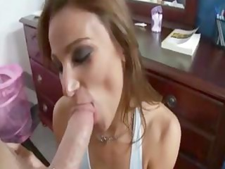 roxy girlfriend riding giant cock at home