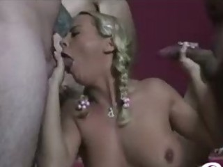 large boob bree olson receives sorrounded by