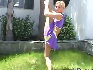 cheerleader madison is very supple