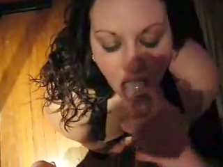 rie rie swallows a load